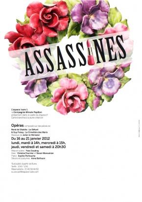 Cie Minute Papillon : Assassines (Affiche)